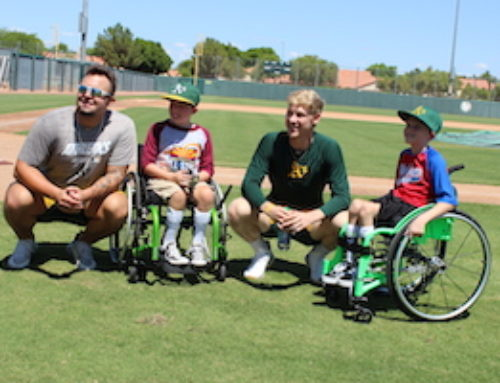 Radar Gun Guy Hosts Miracle Leaguers